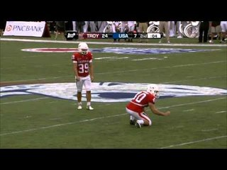 09/29/2012 Troy vs South Alabama Football Highlights