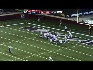 10/13/2012 Florida Atlantic vs Louisiana Monroe Football Highlights