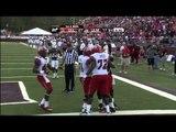 11/03/2012 UL Lafayette vs UL Monroe Football Highlights