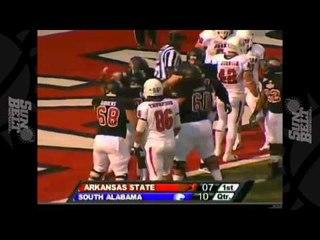 10/13/2012 South Alabama vs Arkansas State Football Highlights