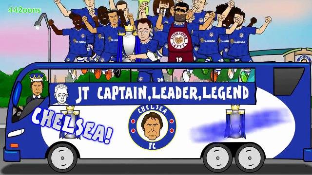 Who Won The League Chelsea! Chelsea! (CHAMPIONS 2016_2017)