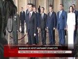 Özgürgün, Anıtkabir'i ziyaret etti-Haber Kıbrıs Genç Tv