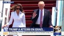 Donald Trump est arrivé en Israël