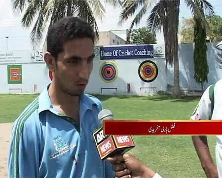 Disable Cricket Team report M. Asif Khan