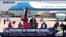"""""""Nous avons une opportunité rare d'apaiser la région et de vaincre le terrorisme"""". Les premiers mots de Trump en Israël"""