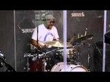 Ski Beatz in a freestyle jam session live on #SwayInTheMorning