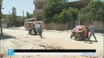عائلات عراقية تعود إلى الأحياء المحررة في  الموصل
