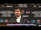 MANNY PACQUIAO REVEALS PERSONAL REASON WHY HE CHOSE & STUCK WITH BOXING??? - EsNews Boxing