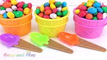 Giant M&M Ice Cream Surprise Toys Chupa Chups Chocolate Kinder Surprise Paw Patrol Learn Colors Kids-4