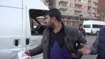 Diyarbakır'da trafik kazası 2 yaralı / 29 01 2016 / DİYARBAKIR