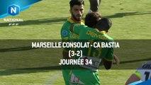 J34 : Marseille Consolat - CA Bastia (3-2), le résumé