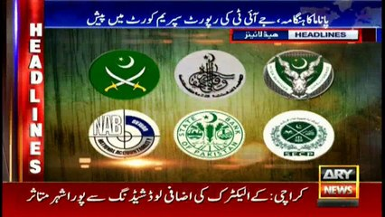 Headlines 1900 22nd May 2017