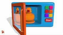 Colors for Children to Learn with Microwave and Blender Toy Appliance - Learn Colors with Vehicles[1]