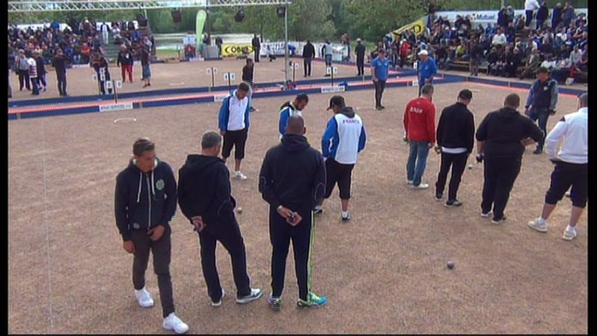 International à pétanque d'Andrézieux-Bouthéon 2017 : 32ème LOY vs France Espoirs