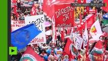 De grandes manifestation à travers le Brésil mettent la pression sur Michel Temer