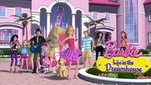 Barbie Life in the Dreamhouse Cringing in the Rain Barbie Cartoon