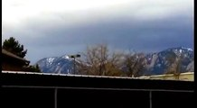 Incredible UFO photographed in the sky over COLORADO! UFO 2017