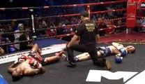 Un double KO incroyable en Muay Thaï !