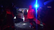 Siverek   Çermik yolunda kaza 1 ölü 1 yaralı \ 08 01 2015 \ ŞANLIURFA