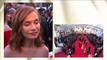 """Isabelle Huppert """"André Téchiné comprend très bien ses acteurs et les histoires qu'il raconte"""" - Festival de Cannes 2017"""