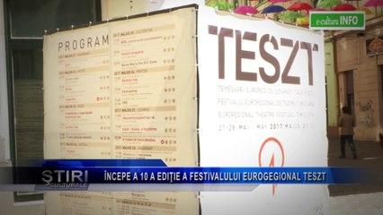 A inceput a 10 a editie a Festivalului Euroregional Teszt
