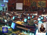 Asamblea Nacional posesionó a los nuevos Parlamentarios Andinos