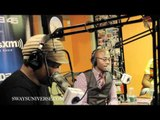 Taye Diggs on Sway in the Morning part 2/2