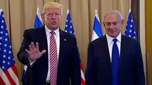"Beleaguered Trump Insists He ""Never Mentioned Israel"""