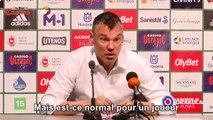 L'entraineur Sarunas Jasikevicius prend la défense de son joueur