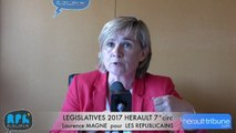 ELECTIONS LEGISLATIVES 2017 - Laurence MAGNE - AGDE - SETE - 7° CIRCONSCRIPTION