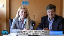 ELECTIONS LEGISLATIVES 2017 - Myriam ROQUES - AGDE - SETE - 7° CIRCONSCRIPTION