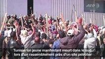 Tunisie: mort d'un manifestant dans le sud