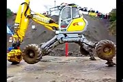 Amazing Spider Excavator driving skills, modern marvels heavy equipment new compilation