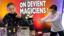 VLOG - ON DEVIENT MAGICIENS ! Découvrez nos Tours de Magie
