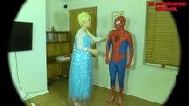 Elsa and Spiderman America Got Talent W_ Peppa Pig and Maleficent-exwWi
