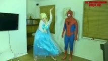 Elsa and Spiderman America Got Talent W_ Peppa Pig and Maleficent-ex