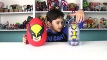 Wolverine Dev Sürpriz Yumurta Açma Oyuncak Abi-m