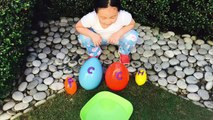 Swimming Baby Animals Egg Surprise _ Learn Letters, Real Animals-yT
