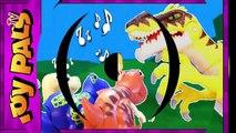 DigiDinos TOY DINOSAURS Singing to Velociraptor Dinosaur Interactive Toys Kids Video Review-gouGNppyn