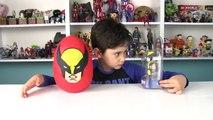 Wolverine Dev Sürpriz Yumurta Açma Oyuncak Abi-mkwckYG