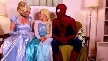 Frozen Elsa Turns into a BAD BABY! w_ Spiderman Pink Spidergirl Joker Anna! Funny Superhero Video  -)-xWa6iOVZ