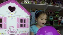 Big Purple Egg Surprises Golden Kinder Surprise Egg Toys HELLO KITTY DOLL HOUSE PLAYSET Frozen Anna-IlpQYvuoA