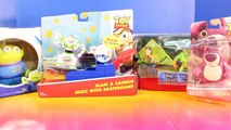 Disney Pixar Toy Story Slam And Launch Buzz Lightyear With Skateboard With Lotso Alien And Woody-rivnGGFp