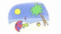 KARAOKE Summer Song - It's Summertime - ELF Learning-jix