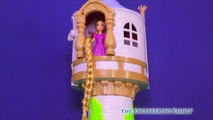 TANGLED EVER AFTER Disney Princess Rapunzel the Police Officer Zootopia Judy Hoppes Funny Toy Video-Cp