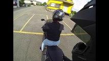 Roxy's erste Fahrt auf der Kawasaki ER-6f _ Channel Regeln - Z1000 MotoVlo