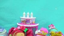 New Season 7 Shopkins Shoppies Dolls Cocolette Lucy Smoothie, Daisy Petals & Polli Polish-Iz35x