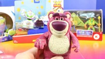 Disney Pixar Toy Story Slam And Launch Buzz Lightyear With Skateboard With Lotso Alien And Woody-rivn