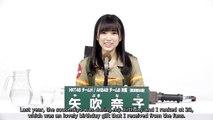Yabuki Nako 49th senbatsu Sousenkyo appeal video
