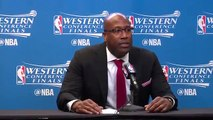 【NBA】Mike Brown Postgame Interview Warriors vs Spurs Game 4 May 22 2017 2017 NBA Playoffs